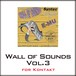 Wall of Sounds Vol.3 for Kontact