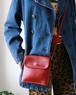 OLD COACH red mini pocket