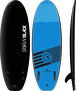 Storm Blade 58in Mini Board / BLACK x AZ Bleu GRAPHIC
