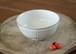 白釉お茶碗(鎬)