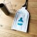 スライドバーホルダー(一本用モデル:ブランデーボトル/ブルー):Handmade  slide bar holder
