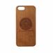 iPhone オリジナルケース フリーメイソン プロビデンスの目 天然木材(チェリー)
