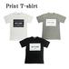 BOXロゴ半袖プリントTシャツ