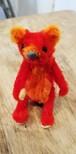 モール人形 赤クマ