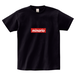 minario / BOX LOGO T-SHIRT BLACK x RED