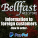 Information to foreign customers - How to order