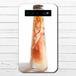 #065-005 モバイルバッテリー 綺麗 おしゃれ かわいい 花柄 ハーバリウム iphone スマホ 充電器 タイトル: フェアリウム(橙) 作:アナ