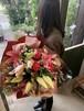 栃木産HBユリのラウンド花束
