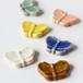 信楽陶器の箸置き 蝶