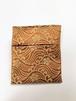 ポケット財布 梅と波の紋様