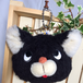 黒猫のポーチ