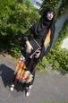 留袖ロングワンピース&ヒジャブ  Dress & Hijab