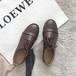 ストレートチップおじ靴 革靴 ローファー オックスフォード マニッシュ ラウンドトゥ レースアップ 厚底 合皮 革 黒 ブラック 茶 ブラウン トレンド 人気 韓国