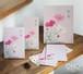 秋桜のレターパッド