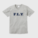 F.L.Y. V-Neck T (GRY×NVY)