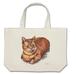 猫祭 茶トラキャット A3  Lバッグ キャンバス地 しっかりとした素材