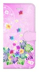 【iPhone7/iPhone8】Sweet Pink Paradise スィート・ピンク・パラダイス 手帳型スマホケース