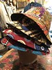 African fabric hat