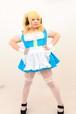 すーぱーぽちゃ子風ビアガールメイド服の参考写真