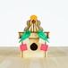 「鏡餅と三方」木製ミニランプ