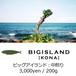 MONTHLY BEANS No.1:BIG ISLAND(KONA) - ビッグアイランド - 中煎り