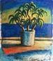 太久磨「自画像としての植物 色紙1」