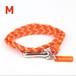 【Mサイズ】ブレスレット  / オレンジ×オレンジ (No.0005B)