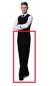 LORENZO Trendy(Black Stripe Black) ※裾上げテープを無料プレゼント!