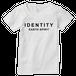 IDEAS/タイポグラフィTシャツ 500W-WH-レディース