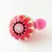かわいい☆おしゃれな自転車ベル FBS02 フラワー(ピンク)
