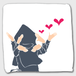 Chu Chu Chu 【日本の伝統芸能ハンドタオル】和雑貨・文楽・歌舞伎・黒子