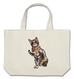 猫祭 猫のロージー A3  Lバッグ キャンバス地 しっかりとした素材