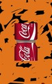 彦坂尚嘉『コカコーラの切断芸術#1』