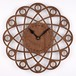 木の壁掛け時計F 惑星(木製ウォールクロック)