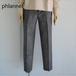 Phlannel/フランネル・ウールリネンハウンドトゥーススラックス