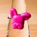 フレンチブルドッグのカラーリング サイズフリー 指輪