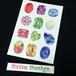 【高品質ポストカード】誕生石のポストカード