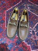 .GUCCI LEATHER HORSE BIT LOAFER MADE IN ITALY/グッチレザーホースビットローファー 2000000050454