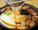身体の芯からぽっかぽか!「元祖生姜ちゃんこ鍋」(2~3人前)・・野菜付なのでお手軽です!【冷蔵発送】