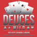 Deuces Wild E-juice Nicotine 0mg / 30ml