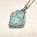 アクアマリン原石ネックレス SNC50