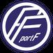 port F ロゴステッカー