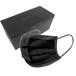 【BLACK】Santek マスク 50枚入り 紫外線遮光 黒