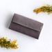 suare long wallet #grayish purple/ スアレロングウォレット 長財布 #灰紫
