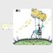 iPhone6/6s 色音としゃぼん玉手帳型スマホケース
