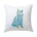 キャンディポップアート猫クッション【Pop cat 見つめる猫】