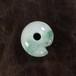 糸魚川翡翠 まがたま まる勾玉  13.5g Green Jadeite Maru-Magatama