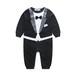 70サイズ 紳士服風のロンパース