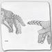 プチハンドタオル :kazue.M_013「手」