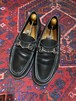.GUCCI LEATHER HORSE BIT LOAFER MADE IN ITALY/グッチレザーホースビットローファー 2000000047164